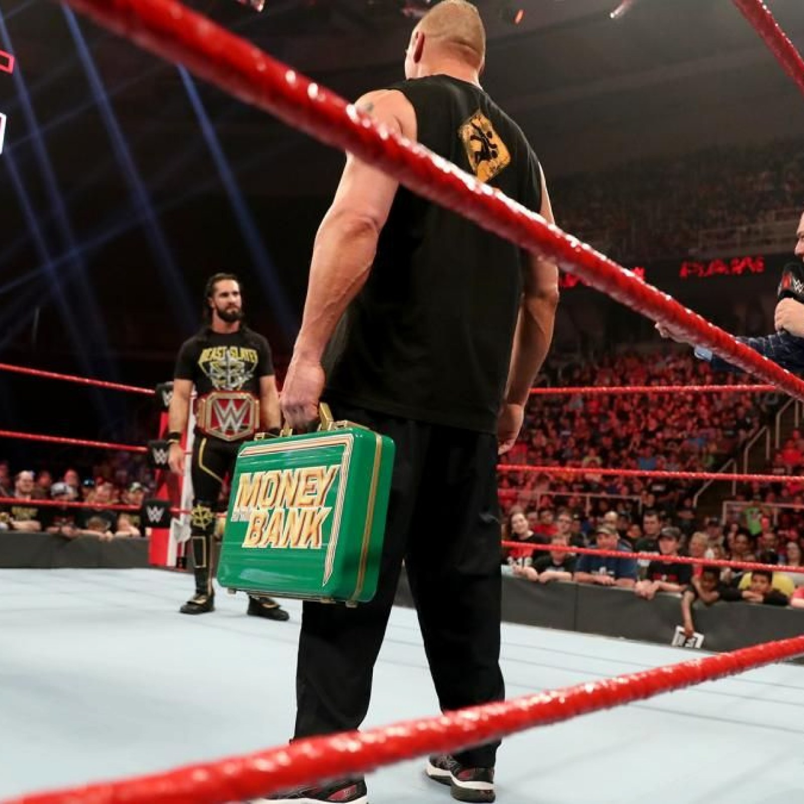 WWE Monday Night RAW Live Results: Who Will Brock Lesnar