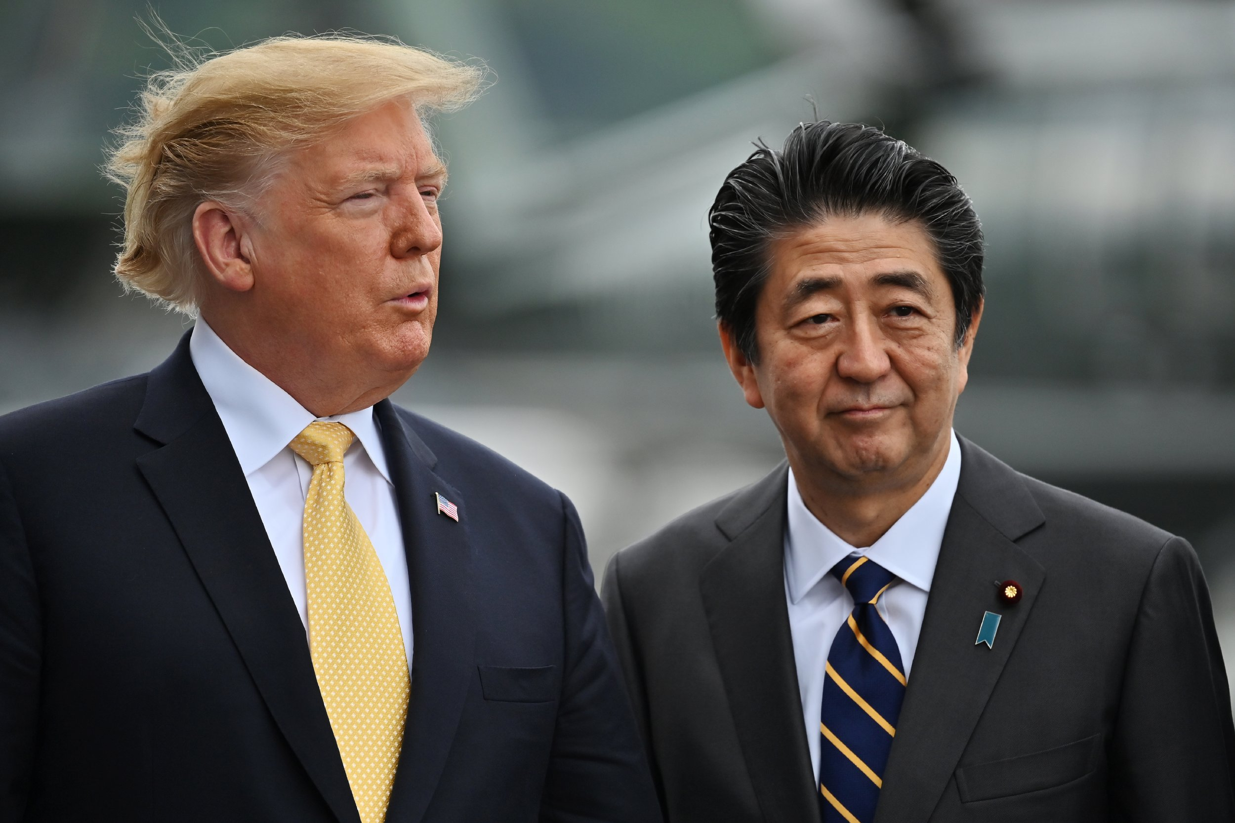 Donald Trump, Shinzo Abe, North Korea, Japan, missiles
