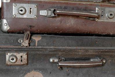 Suitcase, body, Indiana