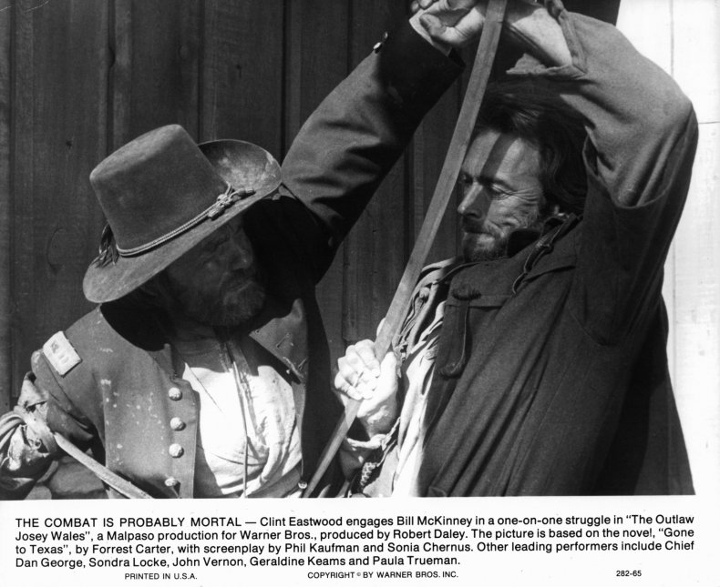 Outlaw Josey Wales Clint Eastwood