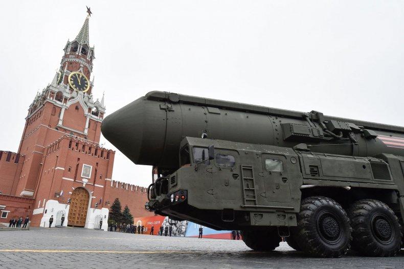 Russian ICBM rocket