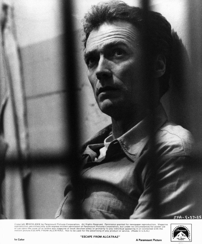 Clint Eastwood Escape To Alcatrez