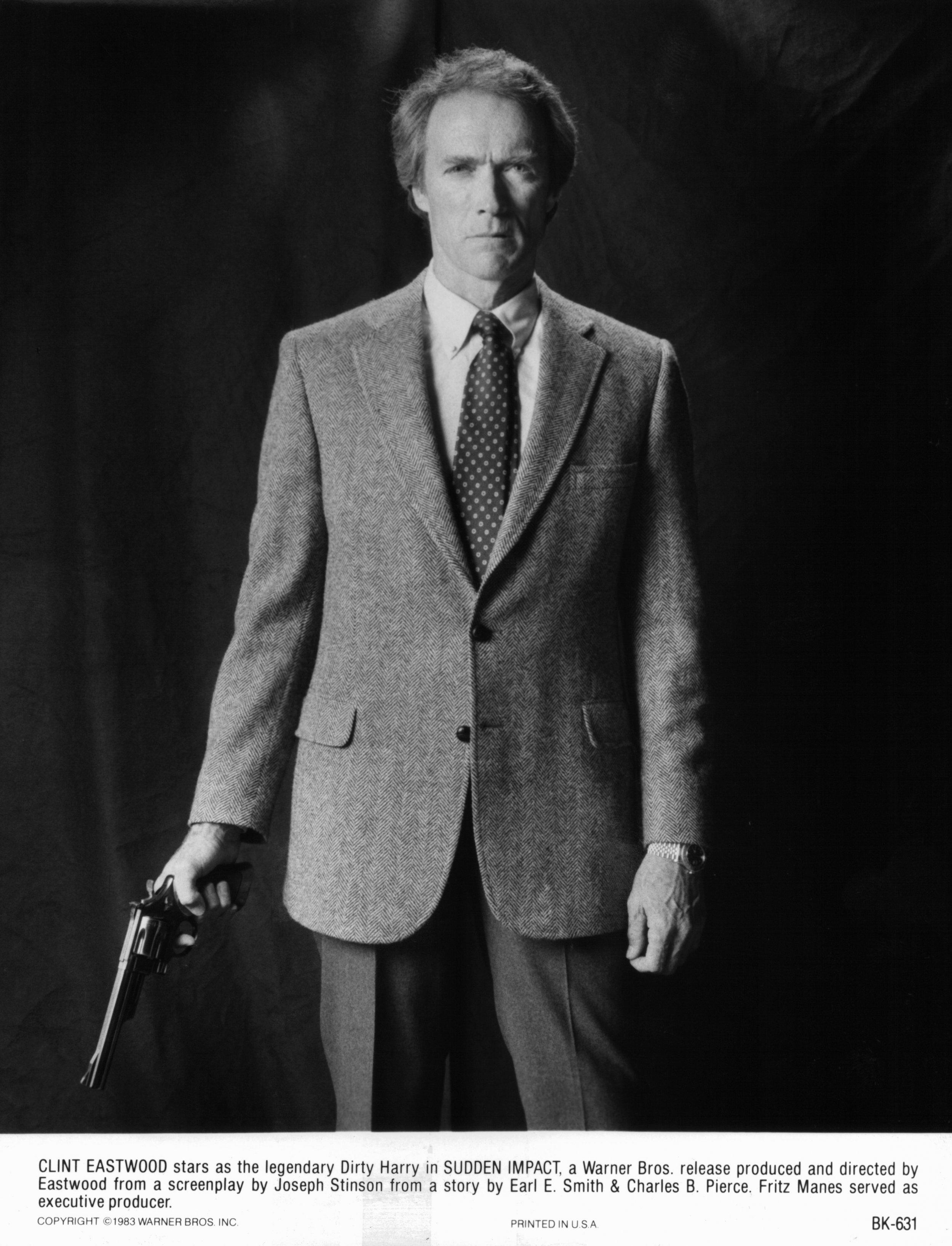 Clint Eastwood Sudden Impact