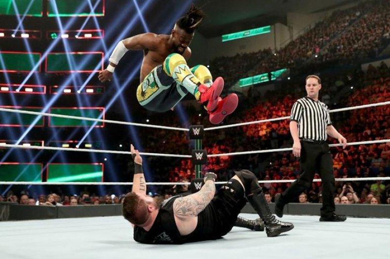 wwe smackdown live results may 28 kofi kingston vs kevin owens