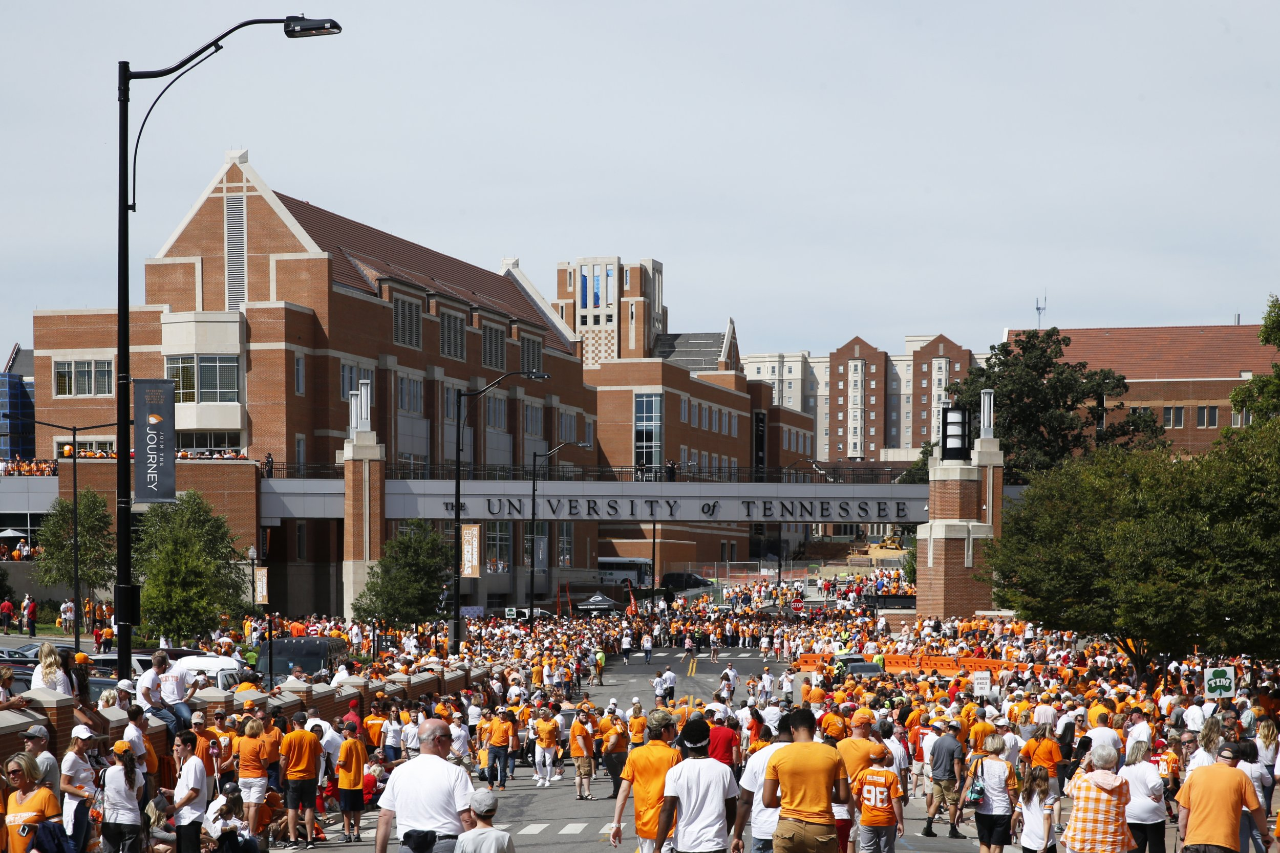 university of tennessee knoxville rick tyler protest