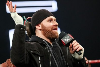 sami zayn aew mention wwe monday night raw scripted shoot