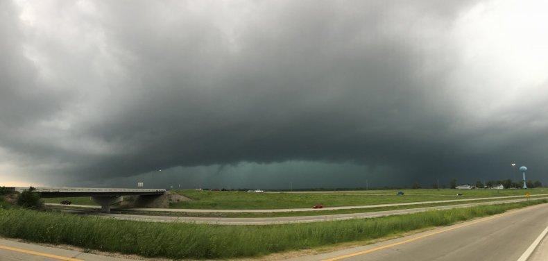 Linwood Tornado Storm