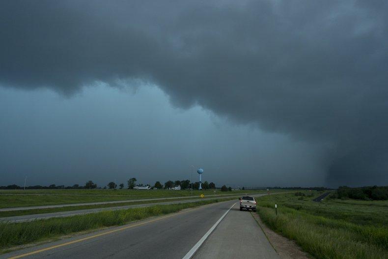 Linwood KS City Tornado