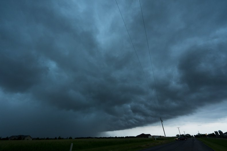 Linwood Tornado KS City Storm May