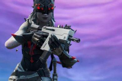 Fortnite burst smg 910 gameplay