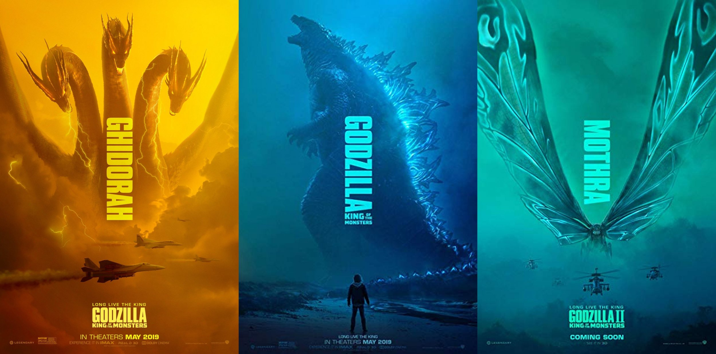 Godzilla King Of The Monsters Monster List All 17 Titan Names