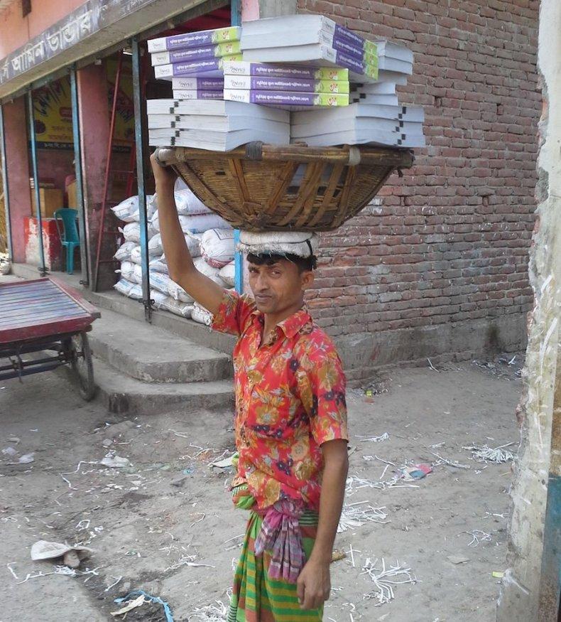 Porter in Old Dhaka