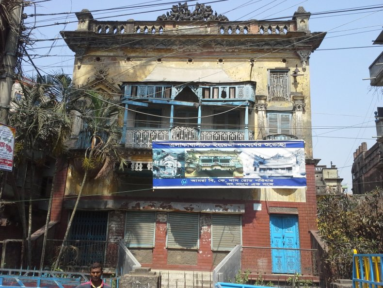 French mansion in Old Dhaka