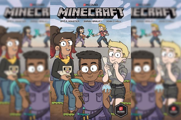 Mojang Minecraft Comic Book Header 01