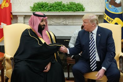 Donald Trump, Mohammad bin Salman, Iran, allies, Saudi Arabia, UAE, Israel