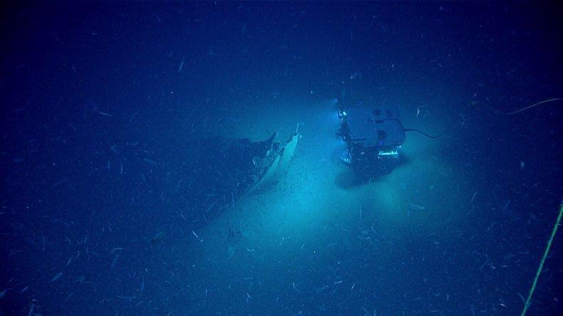 Shipwreck, Gulf of Mexico