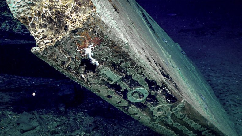 Ghost Ship, Shipwreck