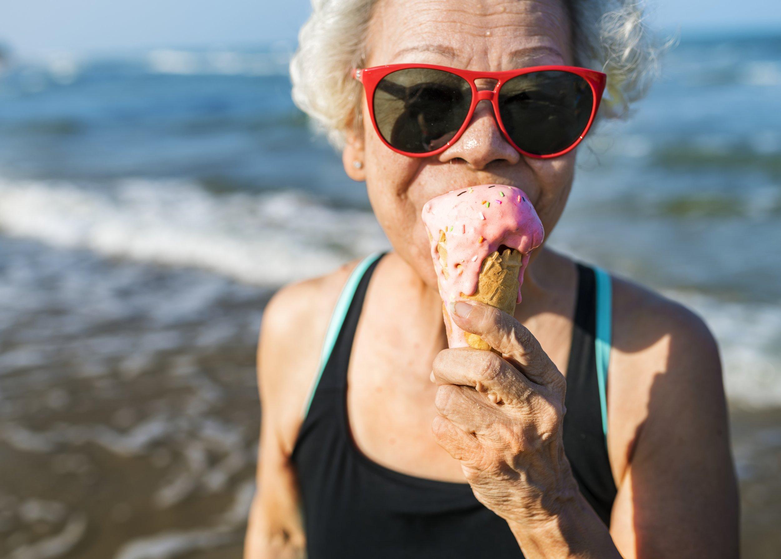 old lady longevity lifespan stock getty