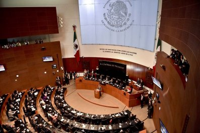 Mexican Senate building