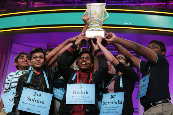 Scripps National Spelling Bee Awards 8 Winners $50,000 After 20 Rounds of Words, Twitter Reacts