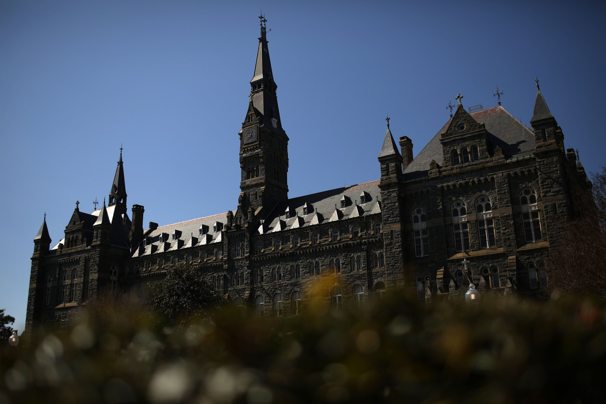 Georgetown university application essays accepted