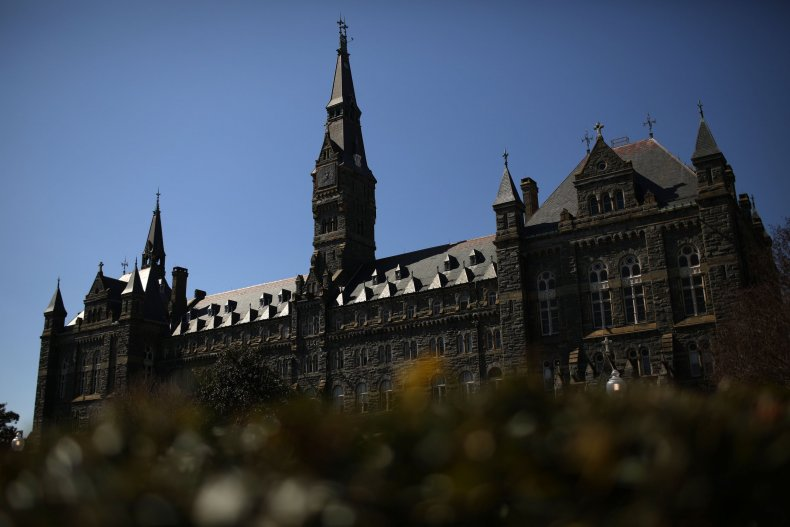 georgetown university college admissions scandal