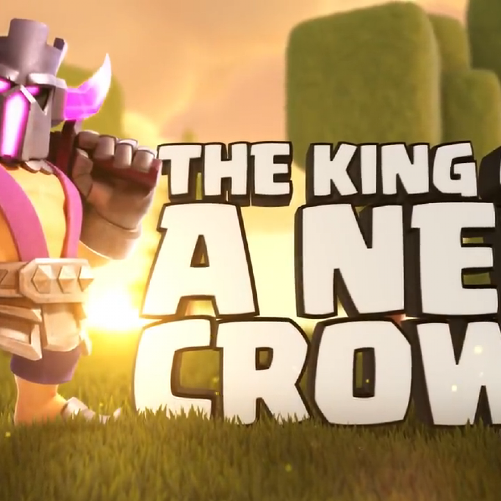 Clash of Clans' PEKKA King Skin Revealed As June Gold Pass