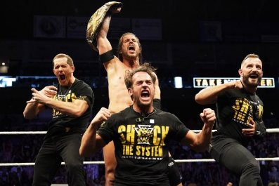 adam cole wins nxt takeover 25 triple h press conference