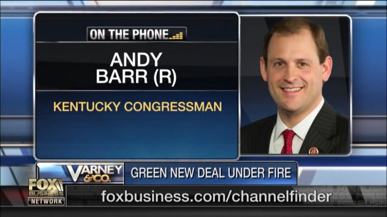 Andy Barr on Green New Deal