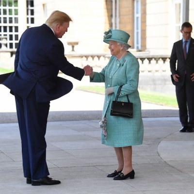 Queen Elizabeth II, Donald Trump, Buckingham Palace