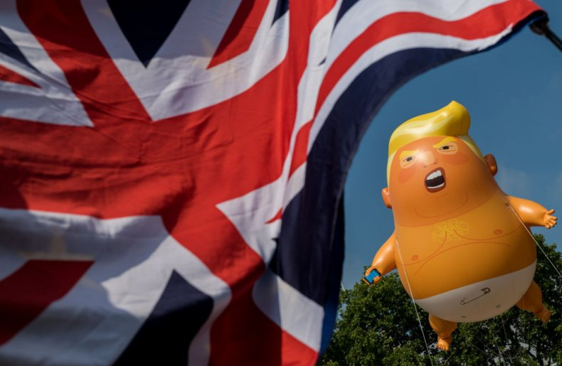 donald trump uk support