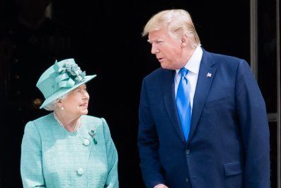 Donald Trump, Queen, Buckingham Palace