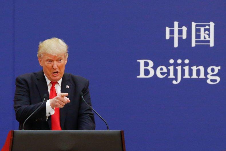 Trump in Beijing, China