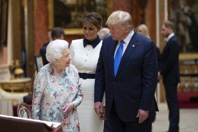 Donald Trump, Queen Elizabeth II, Royal Protocol