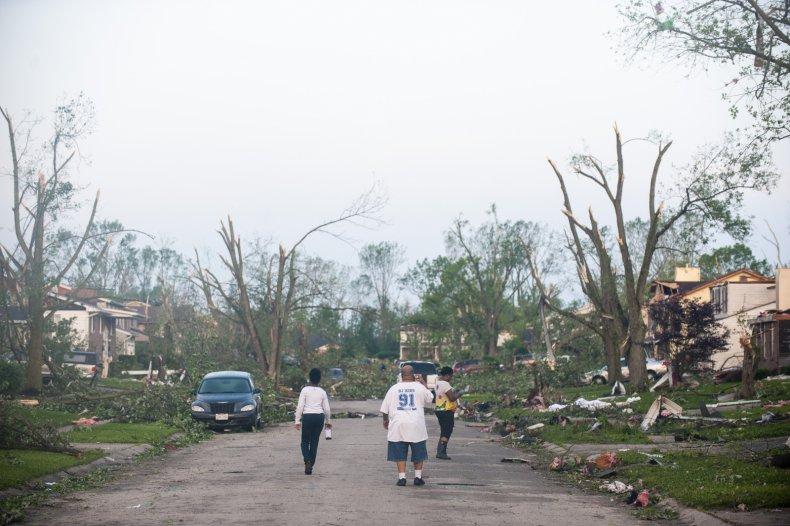 Tornado Trotwood Ohio May 28
