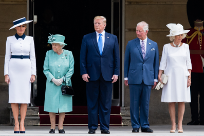 Is Melania Trump's Westminster Abbey Look a Nod to Princess Diana's Iconic Style?
