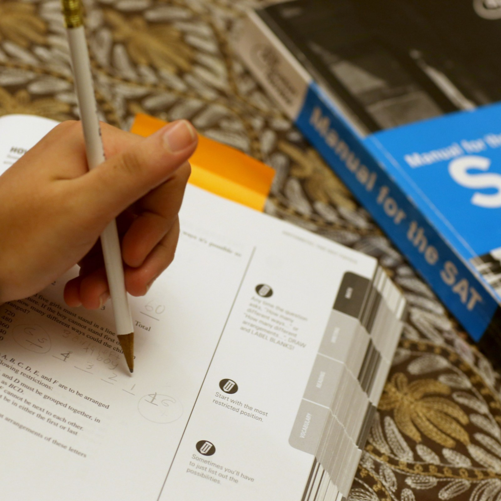 Highly Likely' SAT Grading Error Also Affected Previous