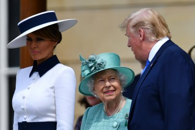 Melania Trump Corrects Donald UK