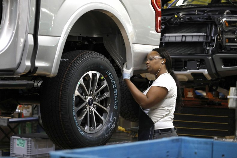 Manufacturing Numbers Hit 10-Year Low