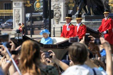 Queen Elizabeth II, Trooping the Colour