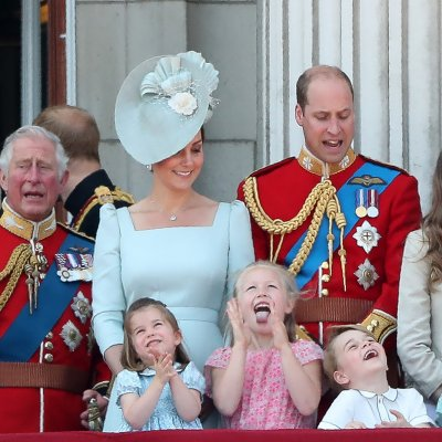 Trooping the Colour, Royal Family