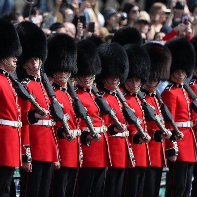 Trooping the Colour, Royal Guards
