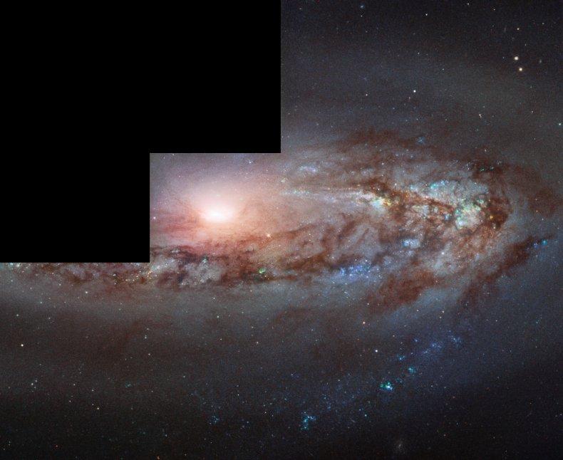 Messier 90, galaxy