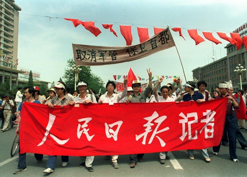 Tiananmen Square 30 Year Anniversary May 1989