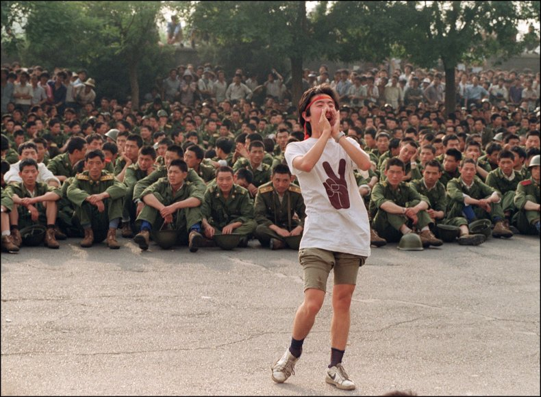 Tiananmen Square 30 Year Anniversary Student Protests