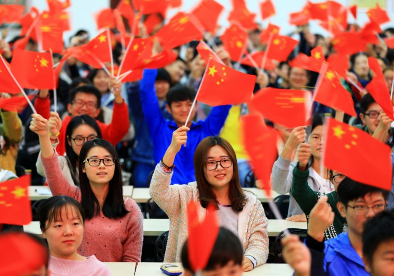 Students China Communist Party