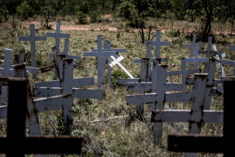 South African farmers' crosses