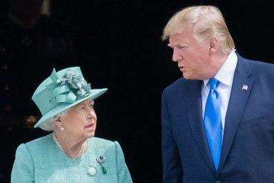 Donald Trump Queen Elizabeth II