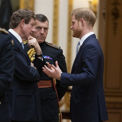 Prince Harry, Donald Trump