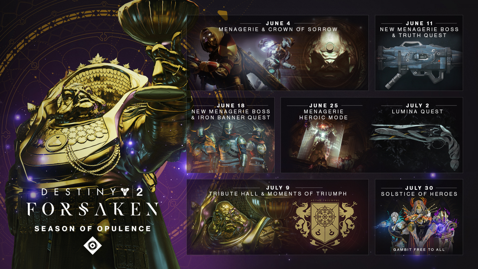 Destiny 2' Season of Opulence Guide: Chalice, Rune Recipes